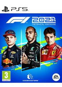 F1 2021 (PS5) - £39.99 delivered using code @ boss_deals / eBay