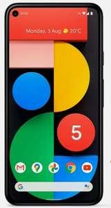 Refurb As New SIM Free Google Pixel 5 6 Inch 128GB 16MP 5G Smartphone - Just Black - £449.99 @ Argos / Ebay