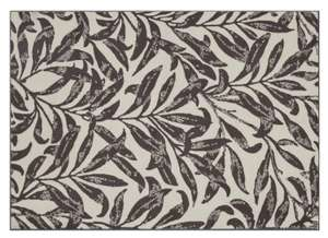 Argos Home Persian Leaf Rug (120 x 170 cm) in beige and brown for £22.50 click & collect (clearance) @ Argos
