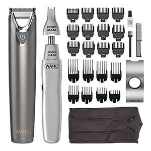 Wahl Stainless Steel Trimmer and Nasal Trimmer Bundle - £34.65 @ Amazon