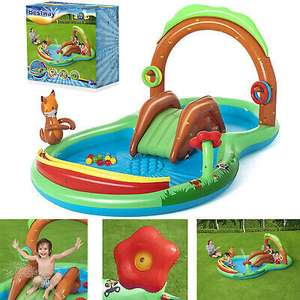 Bestway Childrens Friendly Woods Inflatable Summer Fun Paddling Pool Play Centre for £39.99 delivered (Mainland UK) @ trueboypoole /eBay