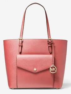 Michael Kors Jet Set Large Leather Pocket Tote Bag Now £96 ( 6 colours available) Free Delivery @ Michael Kors