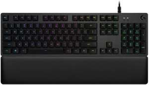 Logitech G513 Mechanical Keyboard with Palm Rest - Clicky Switches £76.47 @ Amazon