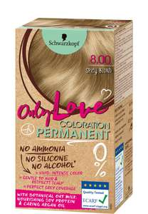Schwarzkopf Hair Colours - Only Love (No Ammonia/Silicone/Alcohol) or Vital Color, £1 In Store @ OneBelow (Robroyston, Glasgow)