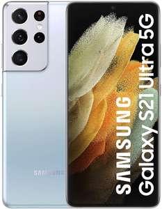 Samsung Galaxy S21 Ultra 5G Silver 12GB 128GB - £867.87 (UK Mainland) at Amazon Spain