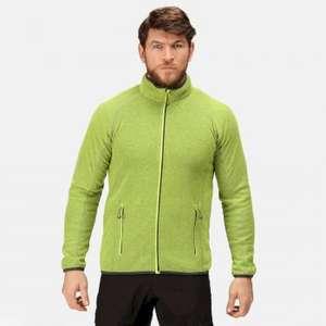 Regatta Men's Dreamste Full Zip Mini Honeycomb Fleece in Seal Grey, or Navy, or Lime Punch for £13.55 delivered using code @ Regatta