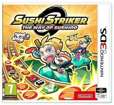 Sushi Striker: The Way of Sushido Nintendo 3DS Game £3 Delivered @ Argos / Ebay - hotukdeals