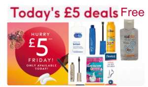 £5 Friday On No7 Lash Impact Ultra, Waterproof 7ml, Soltan, Flexitol, E45,Gaviscon , +Free Hand Sanitiser +£1.50 Click and collect @ Boots