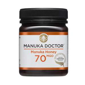 GENUINE Manuka Honey £10 + £5 Delivery @ Manuka Doctor £33.99 in Holland Barrett