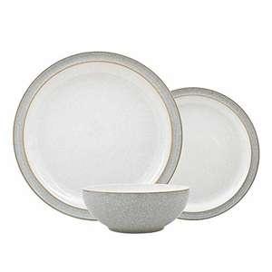 Denby 380048781 12 Piece Dinner Set, Grey £65.09 @ Amazon