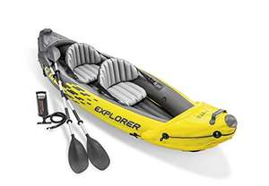 INTEX Canoe Explorer K2 Kayak for Two People with Oars + Pump - £114.23 (£111.27 with Fee Free Card) delivered (UK Mainland) @ Amazon France