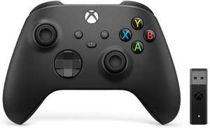 Xbox Wireless Controller + Wireless Adapter for Windows (Xbox Series X/ ) (B08JW5DR79) £54.38 sold by Amazon EU (UK Mainland only)