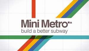 Mini Metro (Steam PC) - £1.74 @ Steam Store