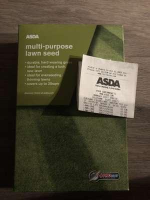 Asda Multi-purpose Lawn Seed 36p instore @ Asda (Skelton)