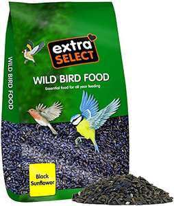 Wild Bird Seed- Black Sunflower Hearts 12.75 kg £7.93 (+£4.49 non-prime) @ Amazon