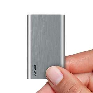 960GB - PNY Portable SSD Elite Silver USB 3.1PSD1CS1050S-960-RB, Brush Grey - £69.30 delivered @ Amazon