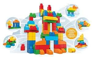 Mega Bloks CNM43 First Builders Deluxe Building Bag £14.41 prime + £4.49 non prime @ Amazon