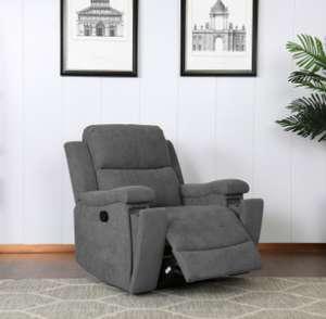 Ledbury Recliner Chair - Dark Grey £279.99 + £9.95 delivery @ The Range