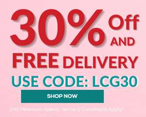 30% Off & free delivery on all glasses when you spend £45 or more @ Low Cost Glasses