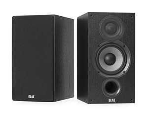 ELAC DEBUT B5.2 Pair of Shelf Speakers, Black Decoration - £140.90 @ Amazon