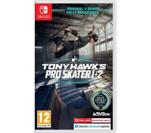 Tony Hawk's Pro Skater 1 & 2 (NINTENDO SWITCH) - £29.99 delivered Using Code @ Currys & PCWorld