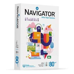 Navigator Students A4 copier paper 80gsm 500 sheets £2.60 in Morrisons Cardiff