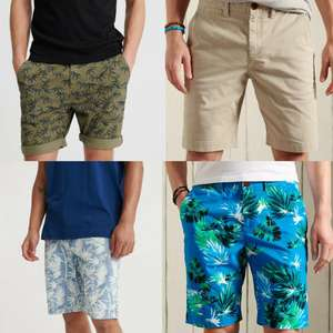 Superdry Mens International Chino Shorts (Various Styles) £9.99 Delivered @ Superdry eBay