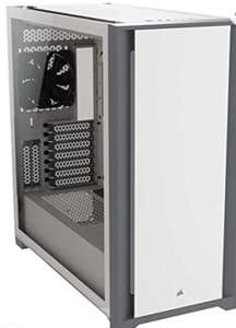 Corsair 5000D Tempered Glass Mid-Tower ATX white PC case - £84.31 @ Amazon