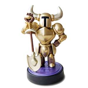 Gold shovel knight amiibo £9.99 (£4.99 delivery) @ GAME