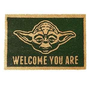 Star Wars Yoda Doormat £8.54 (Prime) + £4.49 (non Prime) at Amazon