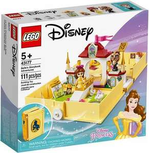 LEGO Disney 43177 Belle's Storybook Adventure - £13 (+ £4.49 non-prime) @ Amazon