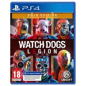 Watch Dogs Legion Gold Edition (PS4) - £20 Free Click & Collect at Selected stores (List in OP) @ SmythToys