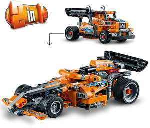 LEGO 42104 Technic Race Truck Toy to Racing Car 2in1 - £12 (+£4.49 Non Prime) delivered @ Amazon