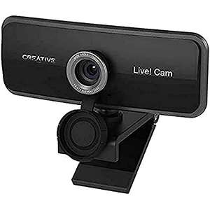 Creative Live! Cam Sync 1080p Full HD Wide-angle USB Webcam, £24.99 Sold by Creative Labs (Europe) and Fulfilled by Amazon.