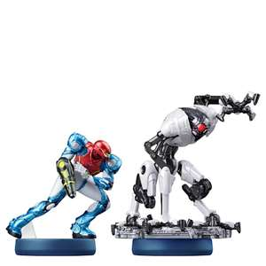 Samus and E.M.M.I. Double Pack amiibo (Metroid Dread Collection) Pre order £25.99 at My Nintendo Store