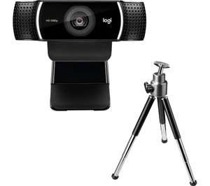 LOGITECH C922 Pro Stream Full HD Webcam £62.99 @ Currys PC World