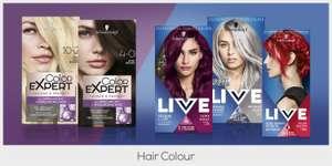 Free Schwarzkopf Hair Colour @ Sampler