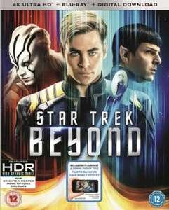 Star Trek Beyond (4K Ultra HD + Blu-ray) - £5.20 Delivered @ Rarewaves