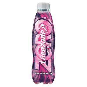 Lucozade zero pink lemonade 500ml 25p @ Morrisons (Glastonbury)