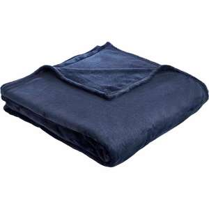 Super Soft Fleece Throw 200 x 200cm - £5 instore only @ Wilko, Hull