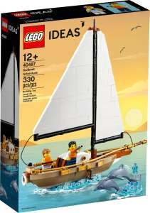 Free LEGO IDEAS 40487 Sailboat Adventures with purchases over £200 (more offers in post) @ LEGO Shop