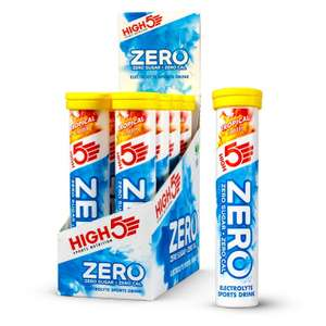 HIGH5 Zero Electrolyte Hydration Tablets Tropical, 8 x 20 £19.25 at Amazon