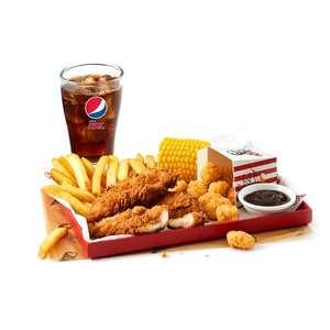 KFC Boneless banquet for one for £4.50 and 12 piece feast for £16 via app @ KFC