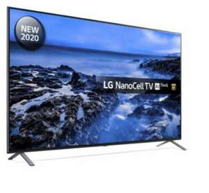 "LG 55NANO956NA 55"" 2020 8K HDR NanoCell LED TV Smart Tv 5 Year Warranty £739 with code (UK Mainland) @ peter_tyson / ebay"
