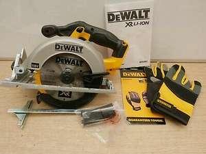 DeWalt XR 18V DCS391 165mm Circular Saw Bare Unit + Fence & Free DPG215L Gloves - £110.37 delivered using code @ abbeypower / eBay