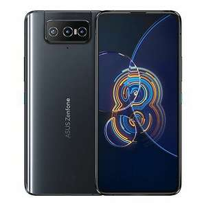 """ASUS Zenfone 8 Flip ZS672KS 6.67"""" FHD+ 8GB RAM 256GB Storage Android 11.0 Black £589.99 delivered with code @ laptopoutletdirect / ebay"""