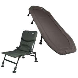 Advanta Protector MZ Bedchair & Recliner Chair Bundle £125.97 delivered @ Angling Direct