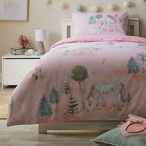 Unicorn, Road map Duvet set £4.90 Toddler size £5.60 single size + Free click & collect at Dunelm