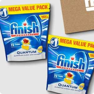 256 Finish (144 Quantum Max + 112 Eco) Dishwasher Tablets for £23.49 delivered @ Finish shop