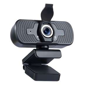 Webcam 1080P PC Camera with Microphone Webcam Privacy Cover - £10.99 using voucher @ Sold by TEKTEK-EU and Fulfilled by Amazon